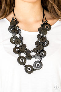 Paparazzi Catalina Coastin Necklaces - Black
