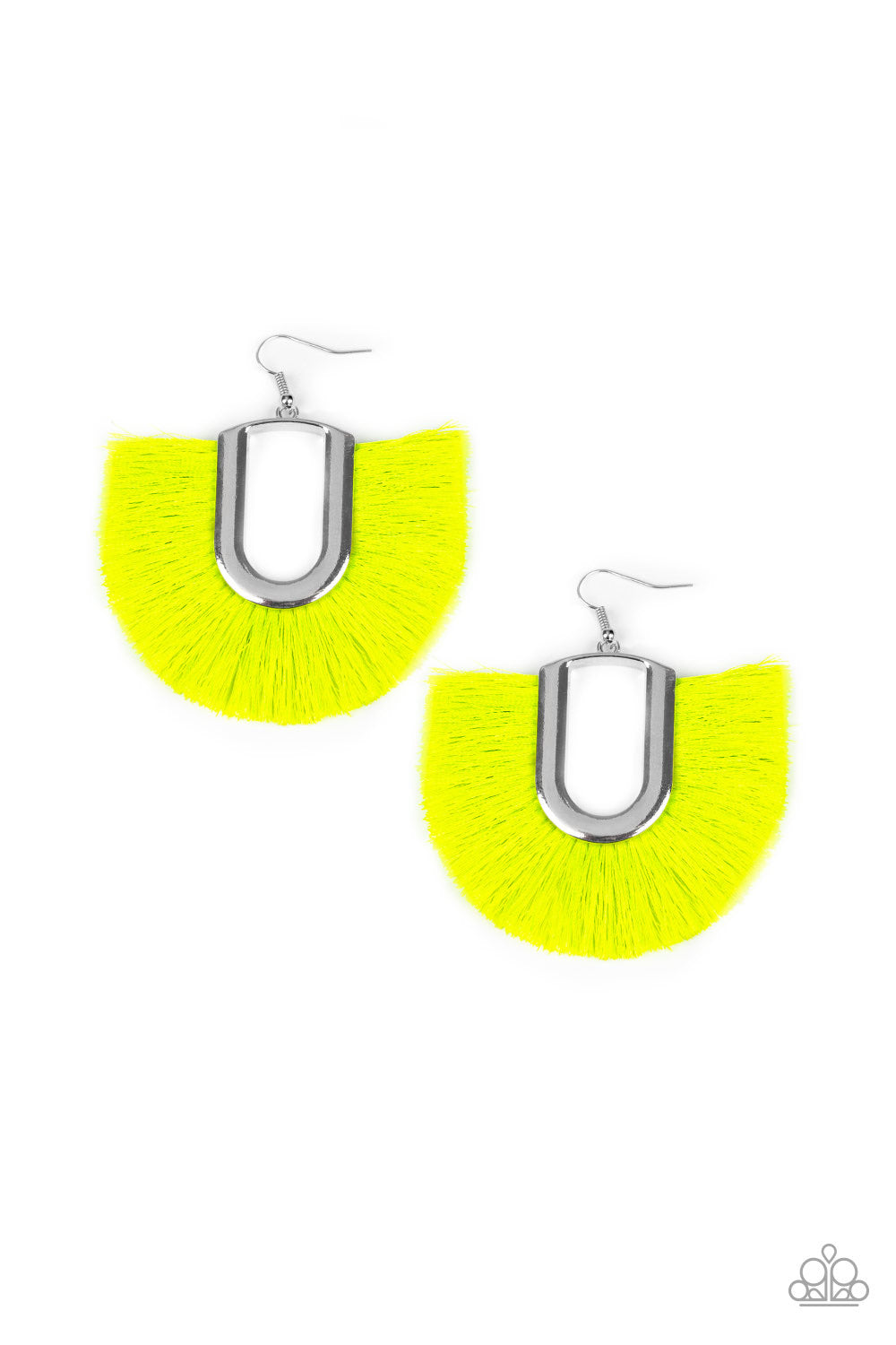 Tassel Tropicana - Neon Yellow