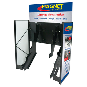 Magnet Source® Metal Sidekick Display w/Graphics (no product)