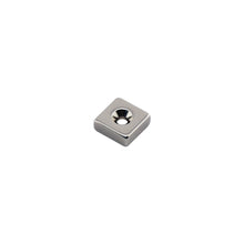 Load image into Gallery viewer, Neodymium Countersunk Block Magnet
