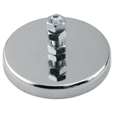 Load image into Gallery viewer, Ceramic Round Base Magnet with Bolt and Nuts
