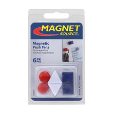 Load image into Gallery viewer, Neodymium Magnetic Push Pins (6pk)