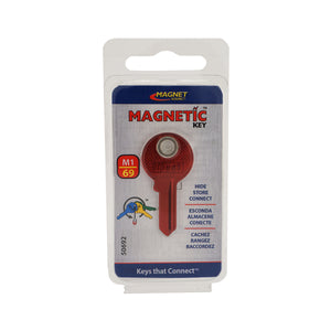 Magnetic Key, M1-69 Red