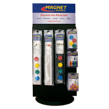 Load image into Gallery viewer, Magnet Source® Rotating Posting Magnets Spinner Display Kit (with product)