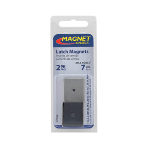 Ceramic Latch Magnet Channel Assemblies (2pk)