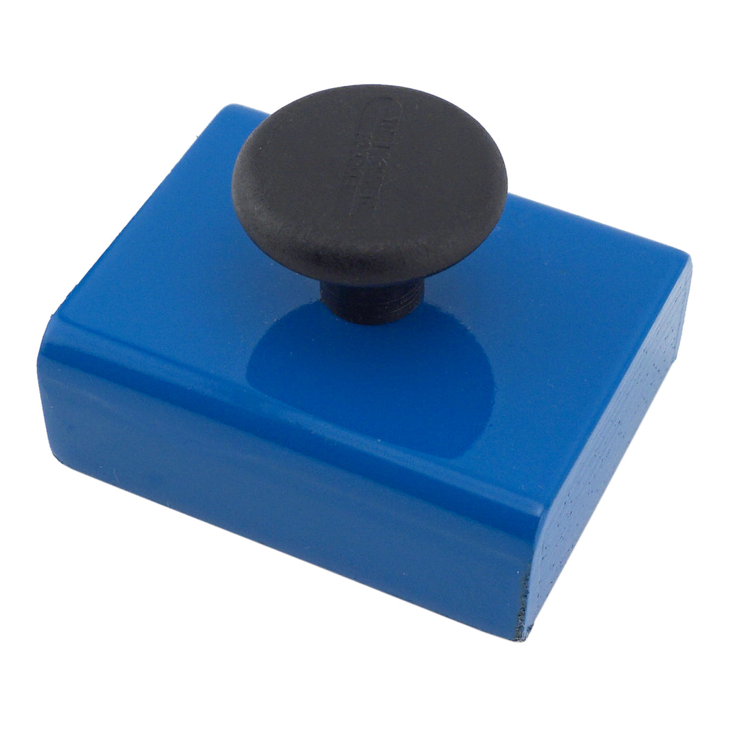 Ceramic Rectangular Base Magnet w/ Knob