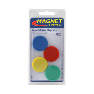 Ceramic Rubber Coated Disc Magnets