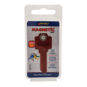 Magnetic Key, WR5-67 Red