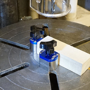 Neodymium On/Off Magnetic Workholding Jig with Mounting Tabs