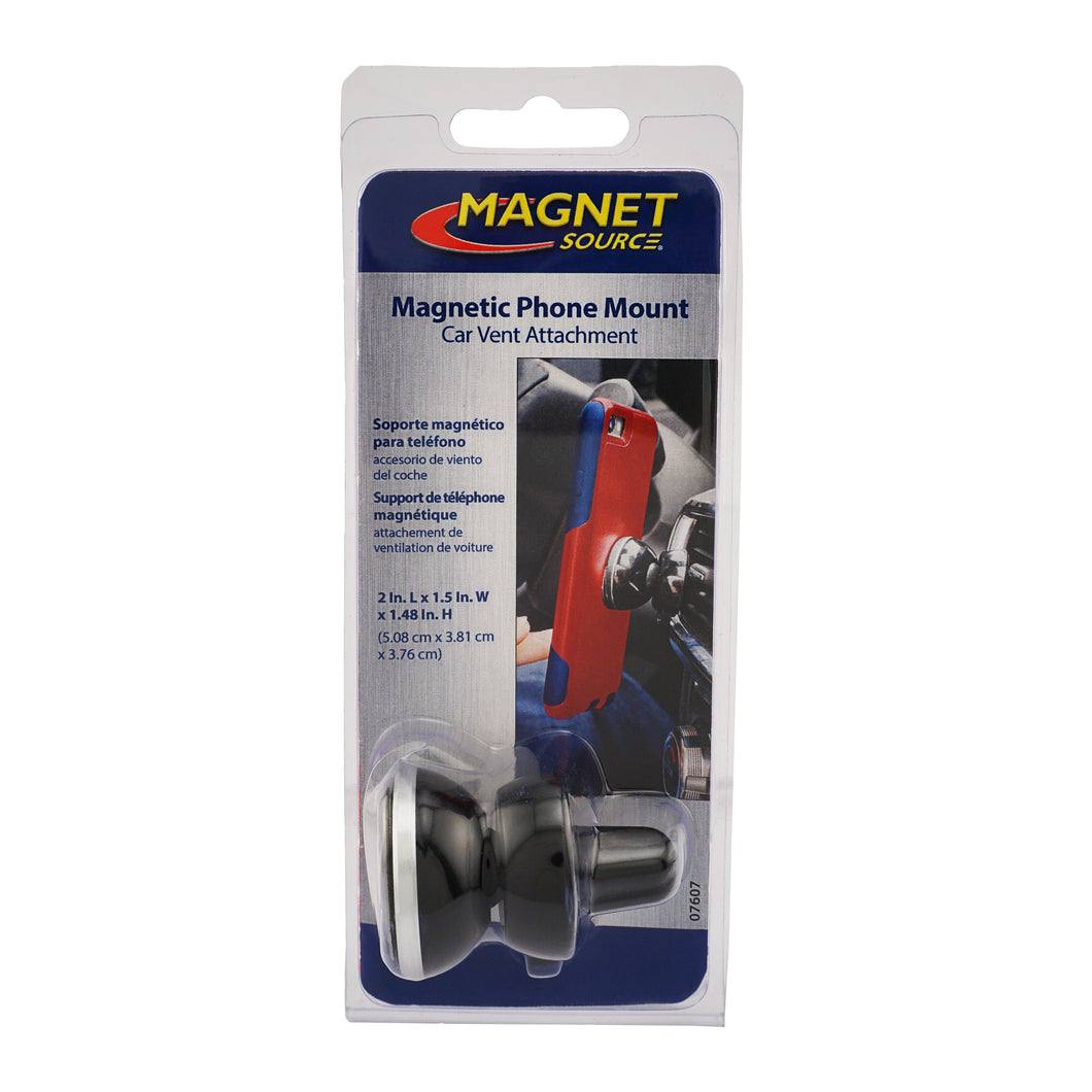 Magnetic Phone Mount, Car Vent Attachment