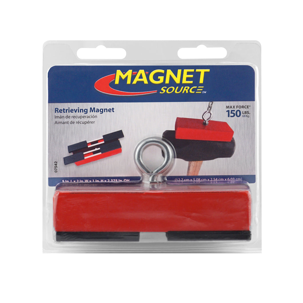 Heavy-Duty Holding and Retrieving Magnet