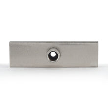 Load image into Gallery viewer, Ceramic Channel Magnet with Plated Base & Nut