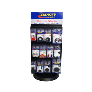 Magnet Source® Rotating Spinner Display Kit (with product)