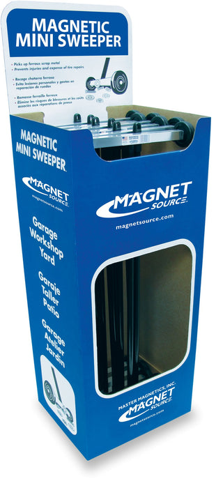Magnetic Mini Sweeper™ Floor Display