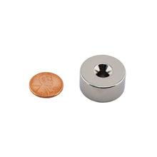Load image into Gallery viewer, Neodymium Countersunk Ring Magnet