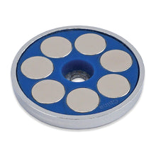Load image into Gallery viewer, Super Blue™ Neodymium Round Base Magnet