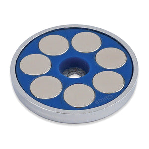 Super Blue™ Neodymium Round Base Magnet