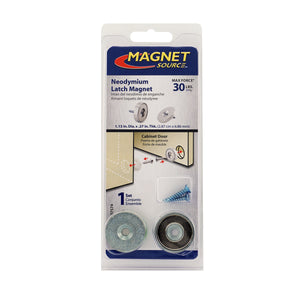Neodymium Latch Magnet Kit (1 set)