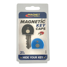 Load image into Gallery viewer, Magnetic Key Caps (2pk, Blue/Black)