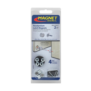 Neodymium Latch Magnet Kit (4 sets)