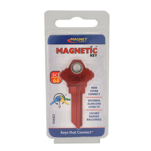 Magnetic Key, SC1-68 Red