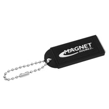 Load image into Gallery viewer, Neodymium Key Chain Magnet w/Logo, Black