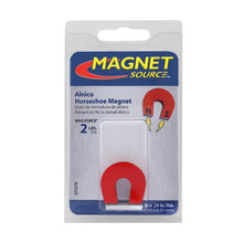 Load image into Gallery viewer, Alnico Horseshoe Magnet w/ Keeper