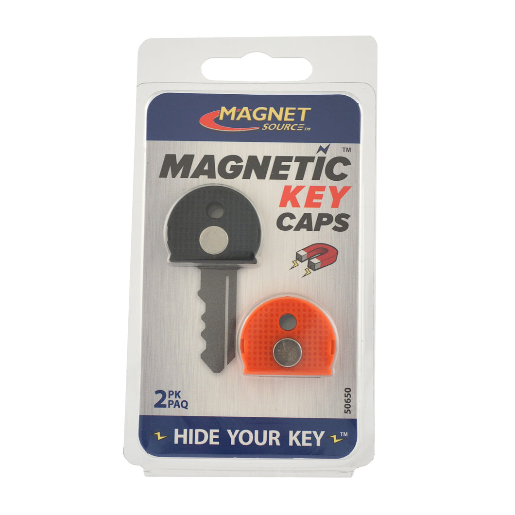 Magnetic Key Caps (2pk, Red/Black)