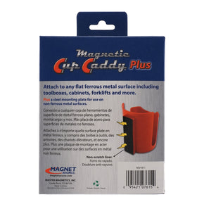 Magnetic Cup Caddy™ Plus, Red