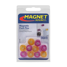 Load image into Gallery viewer, Neodymium Magnetic Push Pins (10pk)