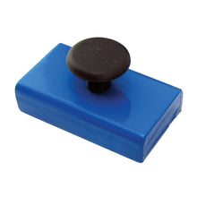 Load image into Gallery viewer, Ceramic Rectangular Base Magnet w/ Knob