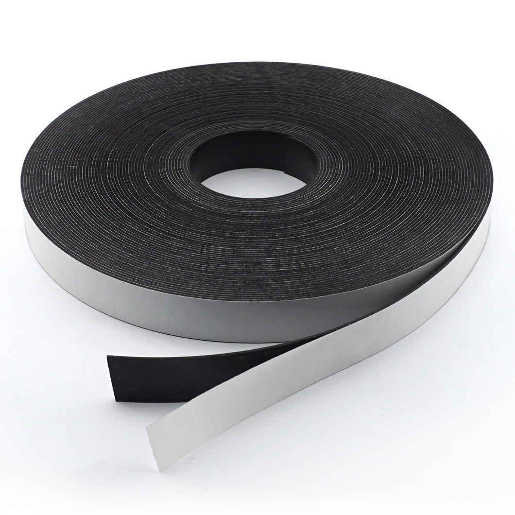 High Energy Flexible Magnetic Strip with Adhesive
