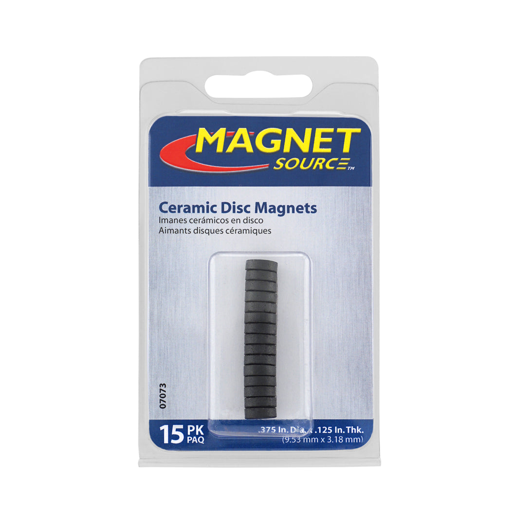 Ceramic Disc Magnets (15pk)