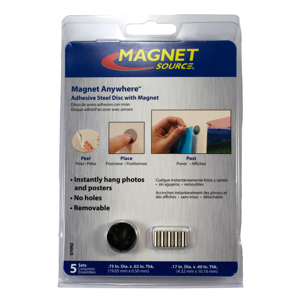 Magnet Anywhere™ (5pk)