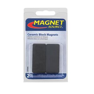Ceramic Block Magnets