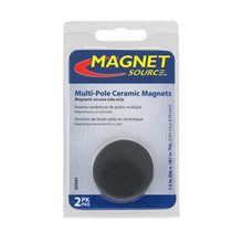 Load image into Gallery viewer, Ceramic Disc Magnets (2pk)