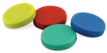 Load image into Gallery viewer, Colorful Ceramic Rubber Coated Disc Magnets Counter Display