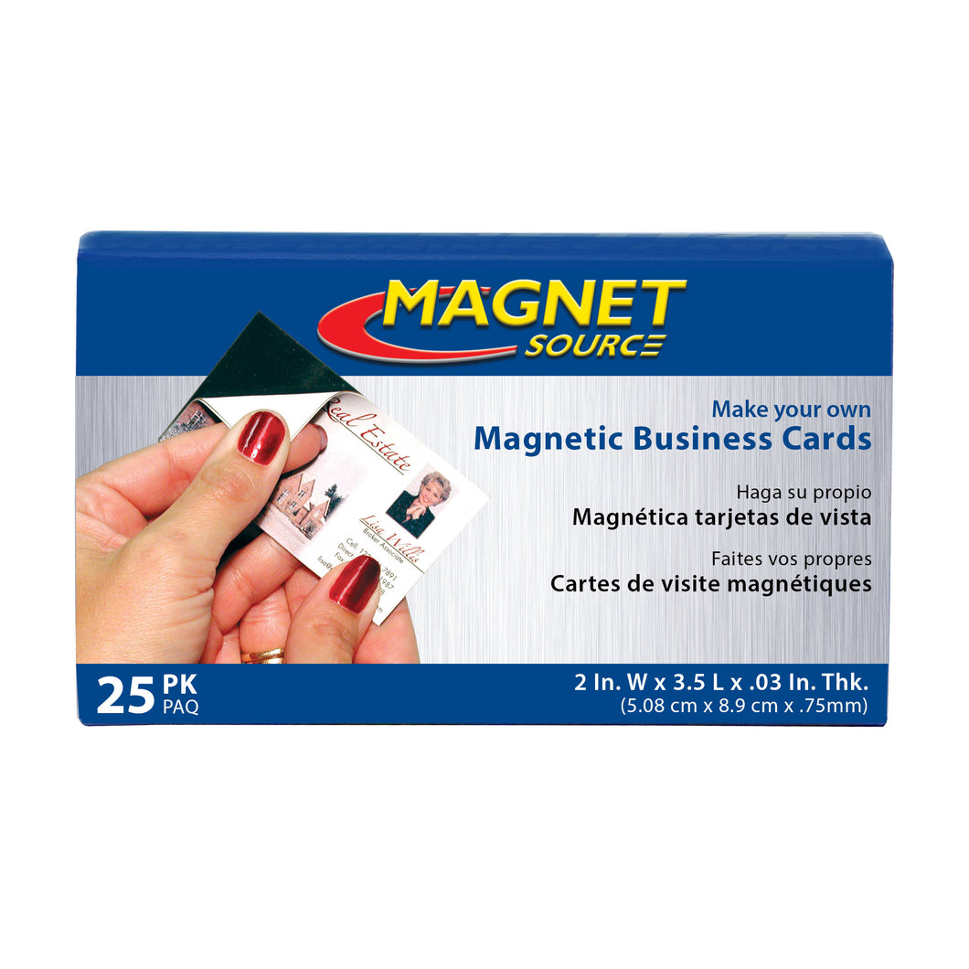 Flexible Magnetic Business Cards (25pk)