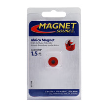 Load image into Gallery viewer, Alnico Button Magnet w/ Keeper