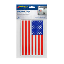 Load image into Gallery viewer, Flexible Magnetic U.S. Flags (2pk)