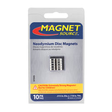Load image into Gallery viewer, Neodymium Disc Magnets (10pk)