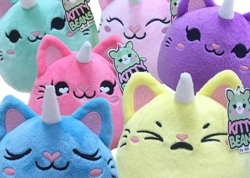 Kitty Beans plush toys