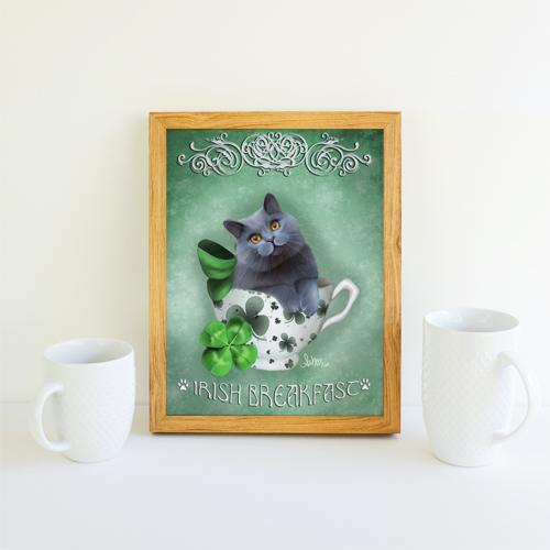 Irish Breakfast Tea Kit-Tea Print Print Ash Evans