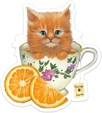 Orange Pekoe Tea Kit-Tea Sticker Sticker Ash Evans