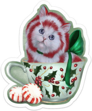 Peppermint Tea Kit-Tea Sticker Sticker Ash Evans
