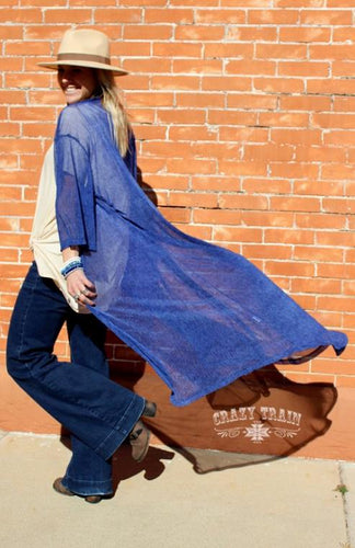 Donahew Denim Duster