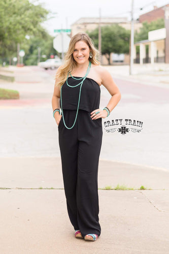 Black Basic Jumpsuit