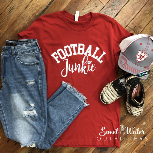 Football Junkie Tee