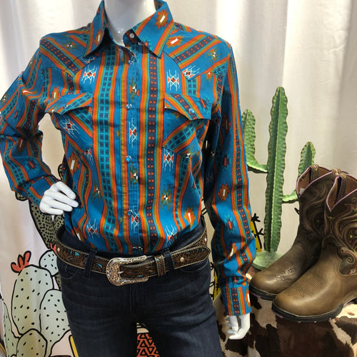 Animas Aztec Snap Shirt