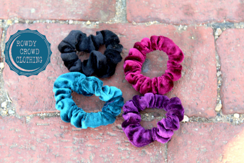 Sassy Sweet Scrunchies